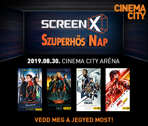 ScreenX Szuperhős Nap