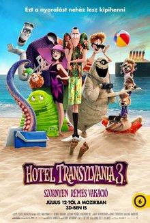 Hotel Transylvania 3 - Szörnyen rémes vakáció poster