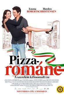 Pizzarománc poster