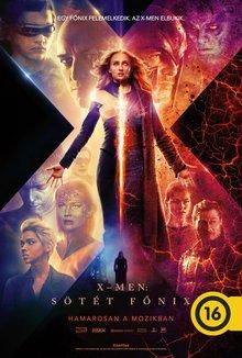 X-Men: Sötét Főnix poster
