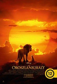 Az oroszlánkirály poster