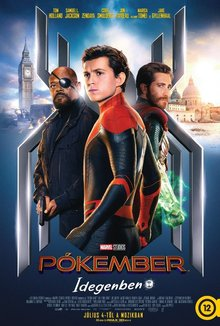 Pókember - Idegenben poster