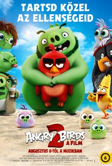 Angry Birds 2 - A film poster