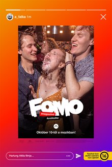 FOMO: Fear of Missing Out poster