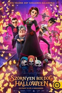 Szörnyen boldog Halloween poster