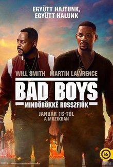 Bad Boys - Mindörökké poster
