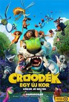 Croodék: Egy új kor poster