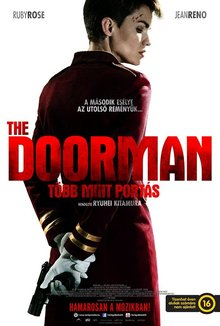 The Doorman - Több mint portás poster