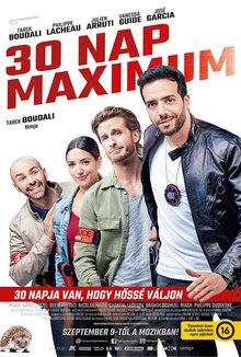 30 Nap Maximum poster